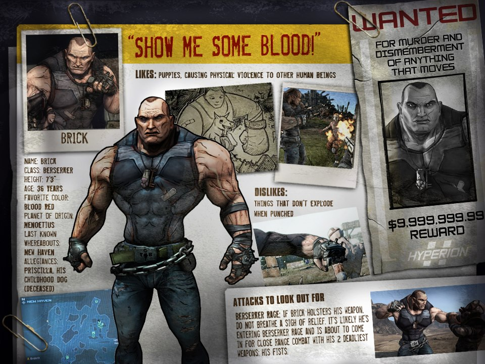 How old are the main characters? [Possible SPOILERS ... Borderlands Character Backstory